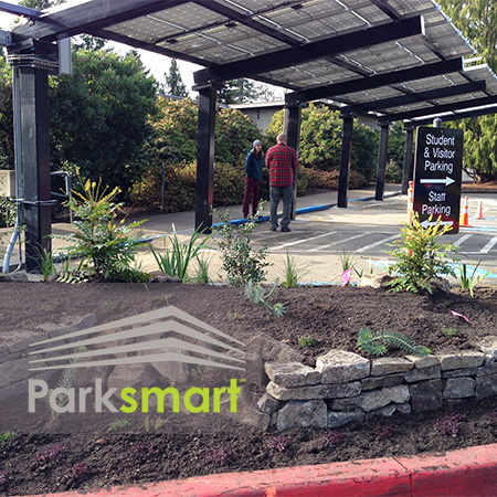 Parksmart, NuPark, Lewis and Clark, green university, green parking,